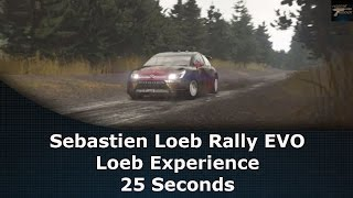 Sébastien Loeb Rally EVO Loeb Experience 25 Seconds
