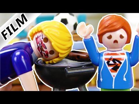 Playmobil Film Deutsch - AM GRILL VERBRANNT! JULIAN MÖCHTE KEIN PAPA SEIN! Kinderserie Familie Vogel