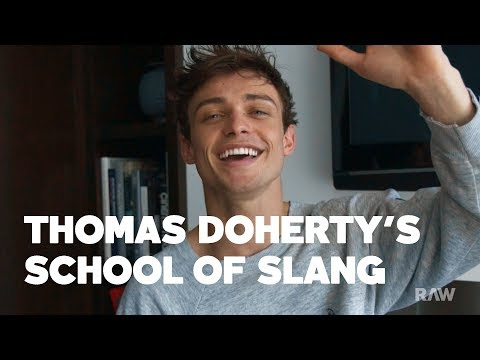 Thomas Doherty's Scottish Slang School is Now in Session - RAW