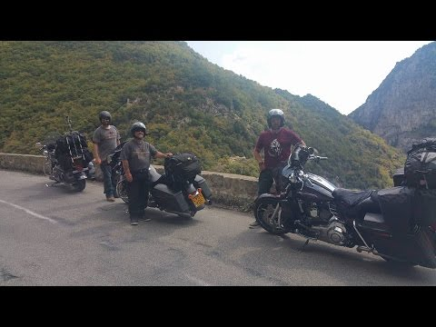 Route des Grandes Alpes Part 1 (in full on a motorcycle)