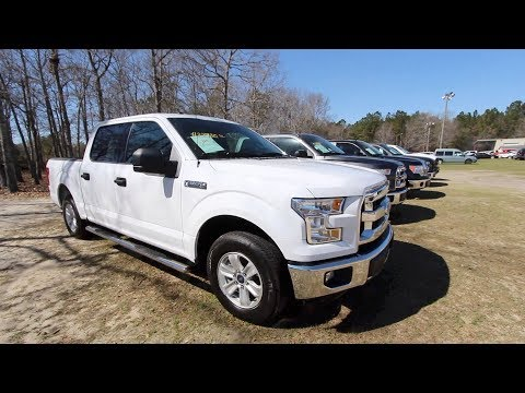 Here's a 2017 Ford F150 XLT Crew Cab – For Sale Review @ Ravenel Ford