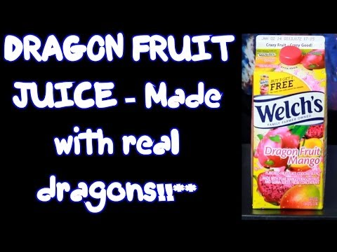 Dragon Fruit Juice at an American Supermarket? Freak N Review Ep 7