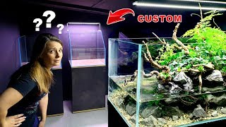 4 STUNNING New Aquariums + WIFE'S REACTION!! || MD FISH TANKS