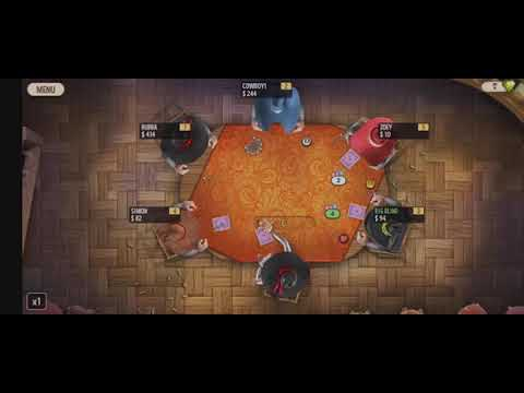 First Poker Lost/ Governor of poker 2 #poker # cowboy #mexican |