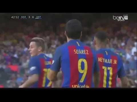 Download Барселона против Депортиво 4-0 все цели и основные моменты.   HD.