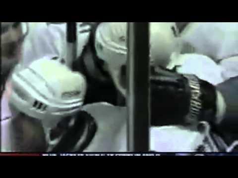 Sandis Ozolinsg goal - 1995 NHL WCQF Series San Jose Sharks vs Calgary Flames