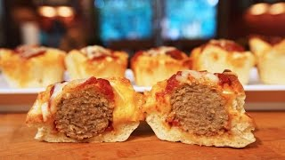 Best Meatball Muffins   SAM THE COOKING GUY recipe