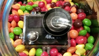 Eken H8R action $100 action camera review, unboxing, and test.