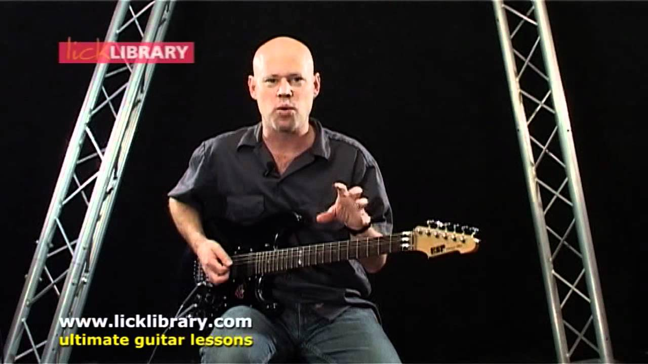 How To Play Man In The Box Alice In Chains Intro Guitar Lesson With Danny Gill Licklibrary