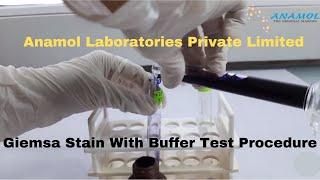 Giemsa Stain with Buffer Test Procedure
