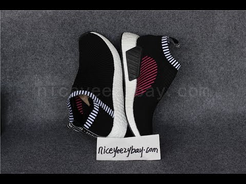 a94fce2ce2879 adidas NMD CS2 Black Pink HD from niceyeezybay.com - YouTube