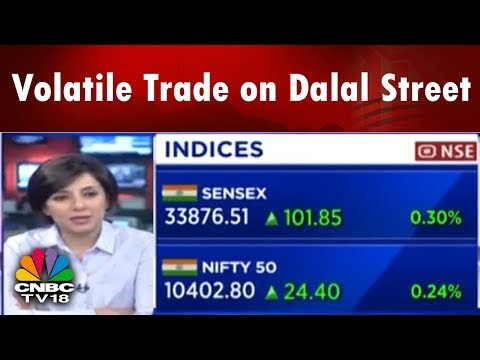Closing Bell | Volatile Trade on Dalal Street | Nifty PSU Bank See a Move on UPSIDE | CNBC TV18