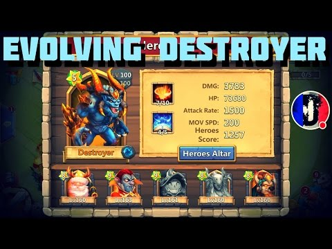 Castle Clash Stream: Evolving Destroyer