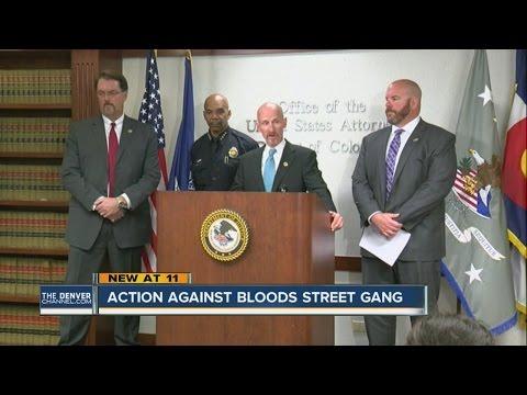 Action against Blood Street Gang in Denver