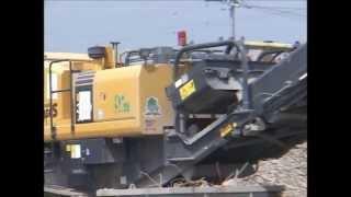 環境リサイクル機械稼働 現場事例 1(都市型/土木)