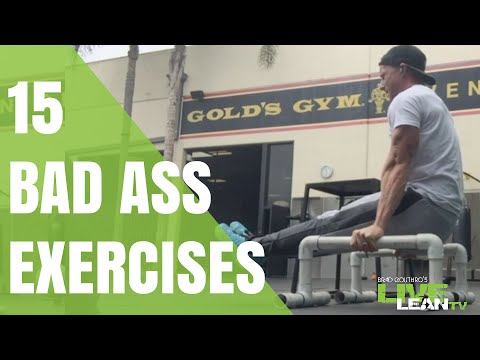 15 Bad Ass Exercises To Build An Athletic Body