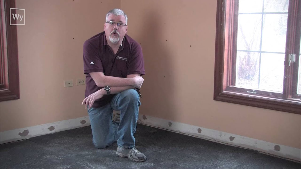 How to install CeraZorb® synthetic cork underlayment