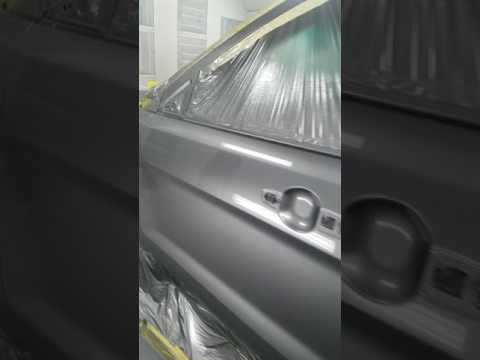 Spray painting ur car Standox 15-60 clearcoat results on for explorer