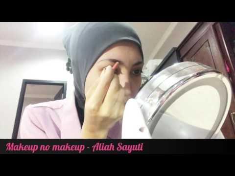 makeup-no-makeup---aliah-sayuti