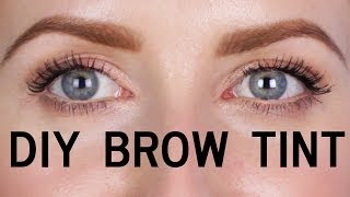 One of Sharon Farrell's most viewed videos: DIY - HOW TO TINT YOUR EYEBROWS AT HOME