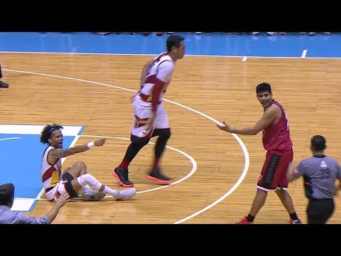 Ross flagrant 1 | PBA Philippine Cup 2018