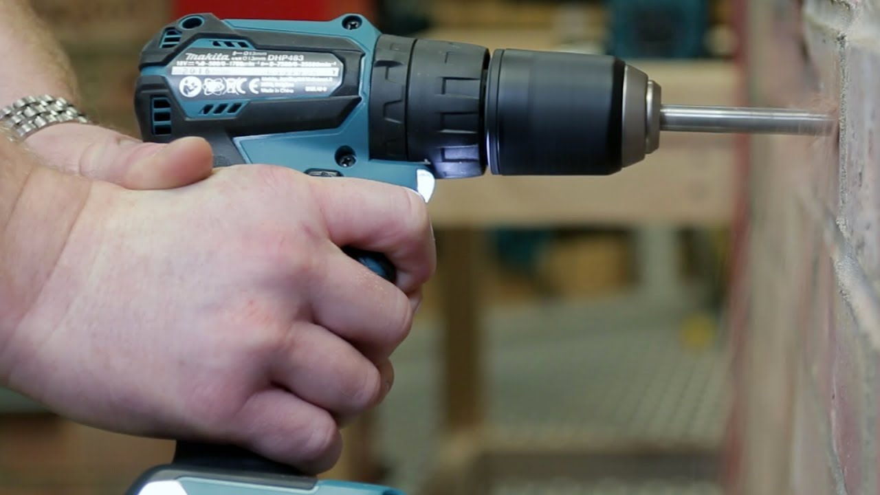 Makita DHP483 18v Brushless Combi-Drill - FIRST LOOK!