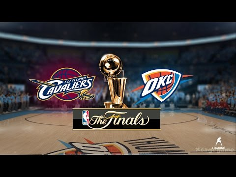 NBA 16 Gameplay - Cleveland Cavaliers VS Oklahoma City Thunder [ HD ]