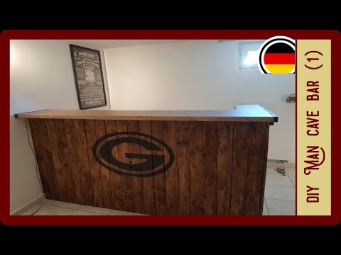 Bar Selbst Bauen Man Cave Teil 1 Diy Bar Youtube
