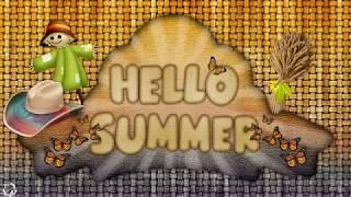 Proshow Producer Лето в Стиле Кантри Summer in the стиль кантри девушка
