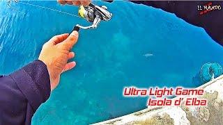 Light Rock Fishing - Ultralight Game -  Isola d' Elba - LRF Elba isle