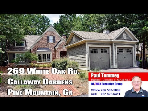 269 White Oak Rd. - Callaway Gardens Pine Mountain GA - Homes For Sale - Branded