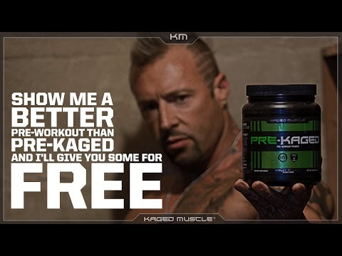 Show Me A Better Pre Workout Product Than PRE-KAGED I'll Give You Some For Free