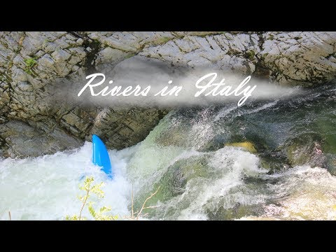 Rivers in Italy - Carnage, beaters, swimming and fails.