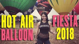 HOT AIR BALLOON FIESTA 2018