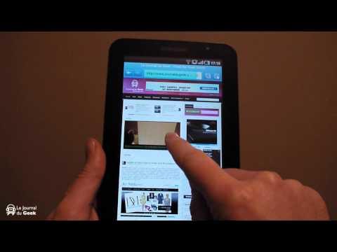 Test Samsung Galaxy Tab