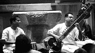 Pt  Nikhil Banerjee - Raga Miyan Ki Malhar,AIR Kolkata 1960s