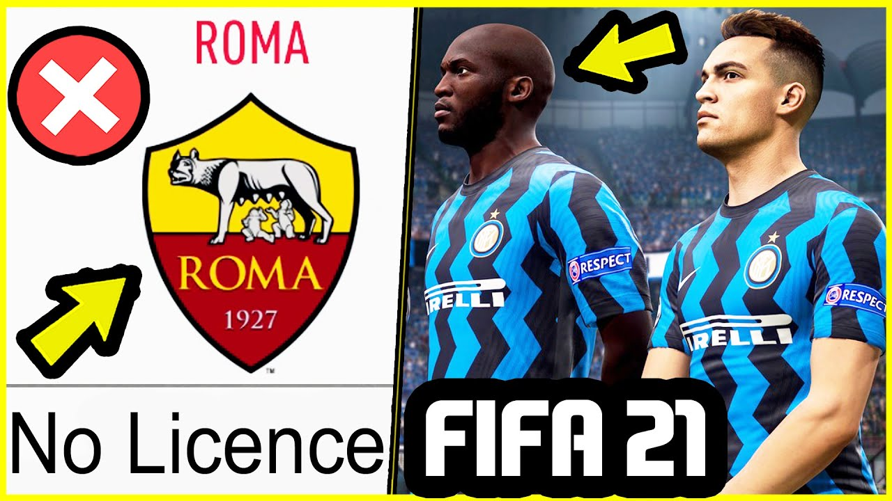 NEW CONFIRMED FIFA 21 NEWS - ROMA LICENCE REMOVED, NEW FACE & MORE! -  YouTube