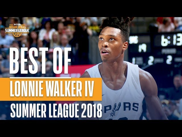 ce3853d01 San Antonio Spurs 2018-19 Player Previews  Lonnie Walker IV