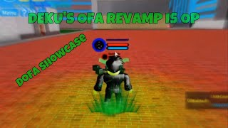 Deku's OFA Revamp Is OP | Boku No Roblox Remastered | Before Revamp and After Revamp