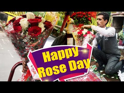 rose-day:-watch-how-florist-making-rose-bouquet-for-your-loved-one-|-boldsky