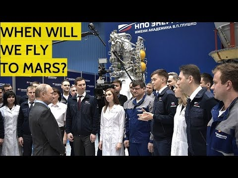Putin Meets With Russia's Best And Brightest Engineers Who Make The Best Rocket Engines In The World