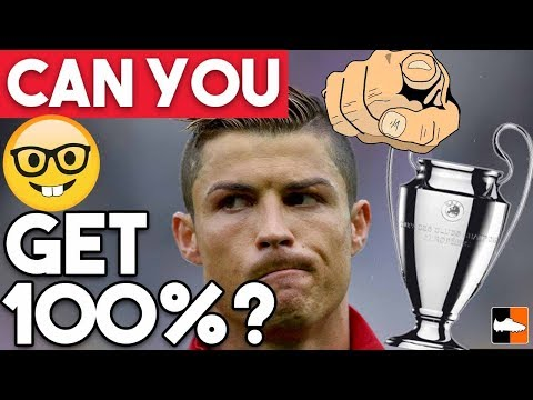 Champions League Quiz  Are You A Football Genius?