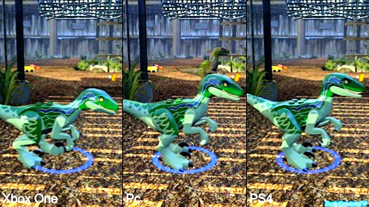 ... Jurassic Wo... Xbox One Vs Ps4 Comparison Graphics