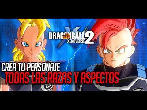 dragon ball xenoverse 2 - crear personaje - youtube