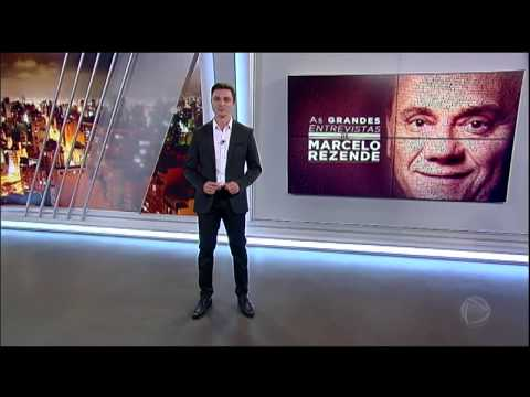 Filho de Marcelo Rezende conta o que sentiu ao apresentar programa em homenagem ao pai