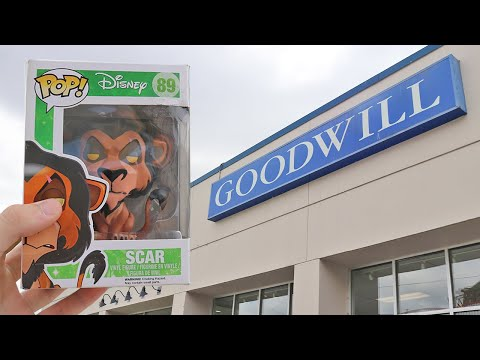 Goodwill Funko Pop Hunting | $100 Pop For $1.29