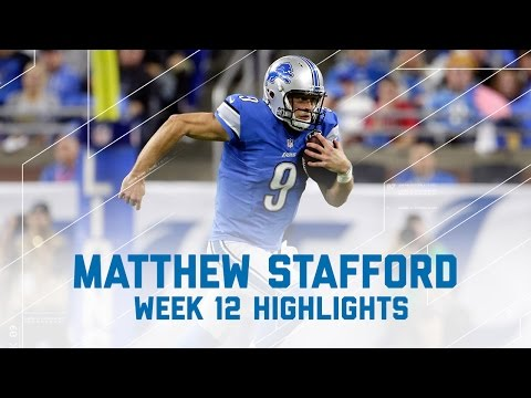Matthew Stafford on Thanksgiving | Vikings vs. Lions | NFL Week 12 Player Highlights