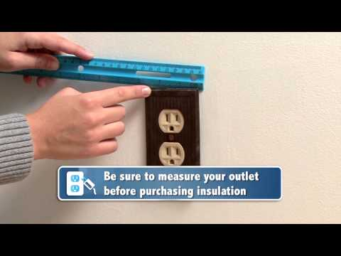Home Energy Efficiency: Sealing Your Outlets