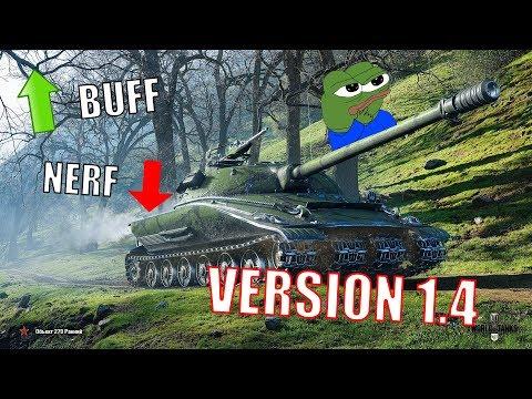 LES CHARS DE RÉCOMPENSES TROP BUFF ? |  VERSION 1.4 | World of Tanks FR thumbnail
