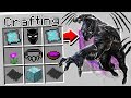 CRAFTING BLACK PANTHER IN MINECRAFT!